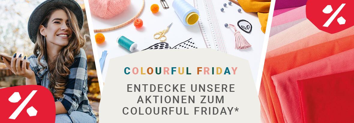 Stoffe.de - 10% bis 30% Rabatt auf Stoffe, Nähzubehör, DIY-Zubehör und Wolle