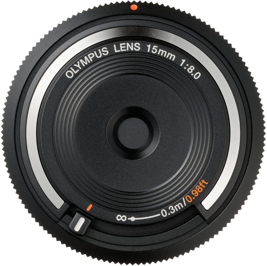 Olympus Body Cap Lens 15mm f8 Pancake Objektiv für 44,44€ inkl. Versand (Mundus)