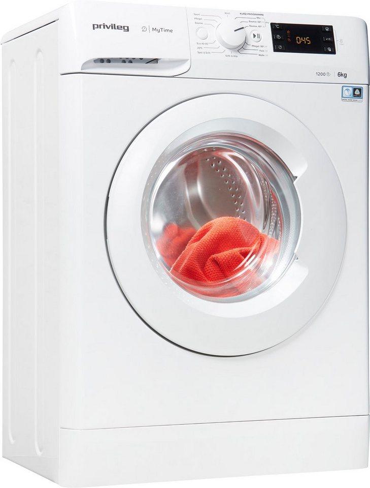 Privileg Waschmaschine PWFS MT 61252, 6 kg, 1200 U/Min, nur 42,5cm tief