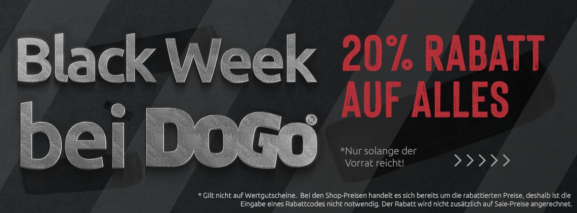 Black-Week bei DOGO-Shoes -20% auf Alles