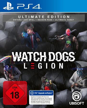 Watch Dogs Legion Ultimate Edition (PS4 & Xbox One) für 59,31€ inkl. Versand (GameStop)
