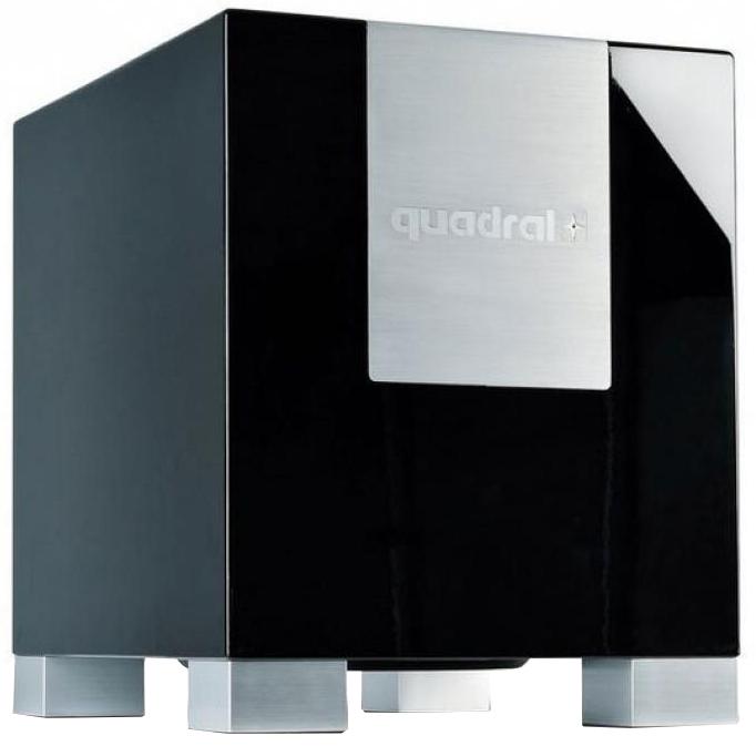 Quadral Qube 12 Subwoofer (schwarz oder weiß), 32 cm Membrane, 500W, Downfire, Online & Lokal in Kassel