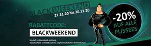 Blackweekend bei Plissees Riese - 20% auf alle Plissees