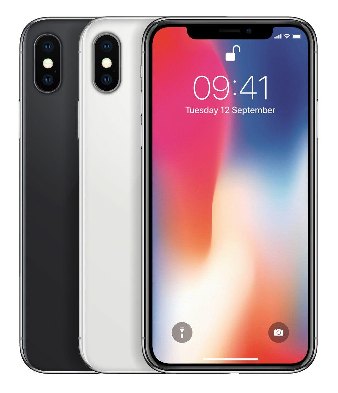 Apple iPhone X 256GB - Ohne Vertrag - Ohne Simlock - Smartphone - DE Fachhändler (Gebraucht)