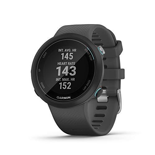 Garmin Swim 2 GPS Smart Watch für Schwimmbad und Freiwasserschwimmen - Schwarz - Amazon FR