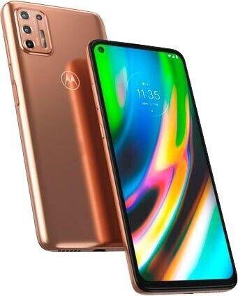 "moto g9 plus Dual-SIM Smartphone (6,8""-CinemaVision-FHD+-Display, 64-MP-Vierfach-Kamerasystem, 128 GB/4 GB, Android 10"
