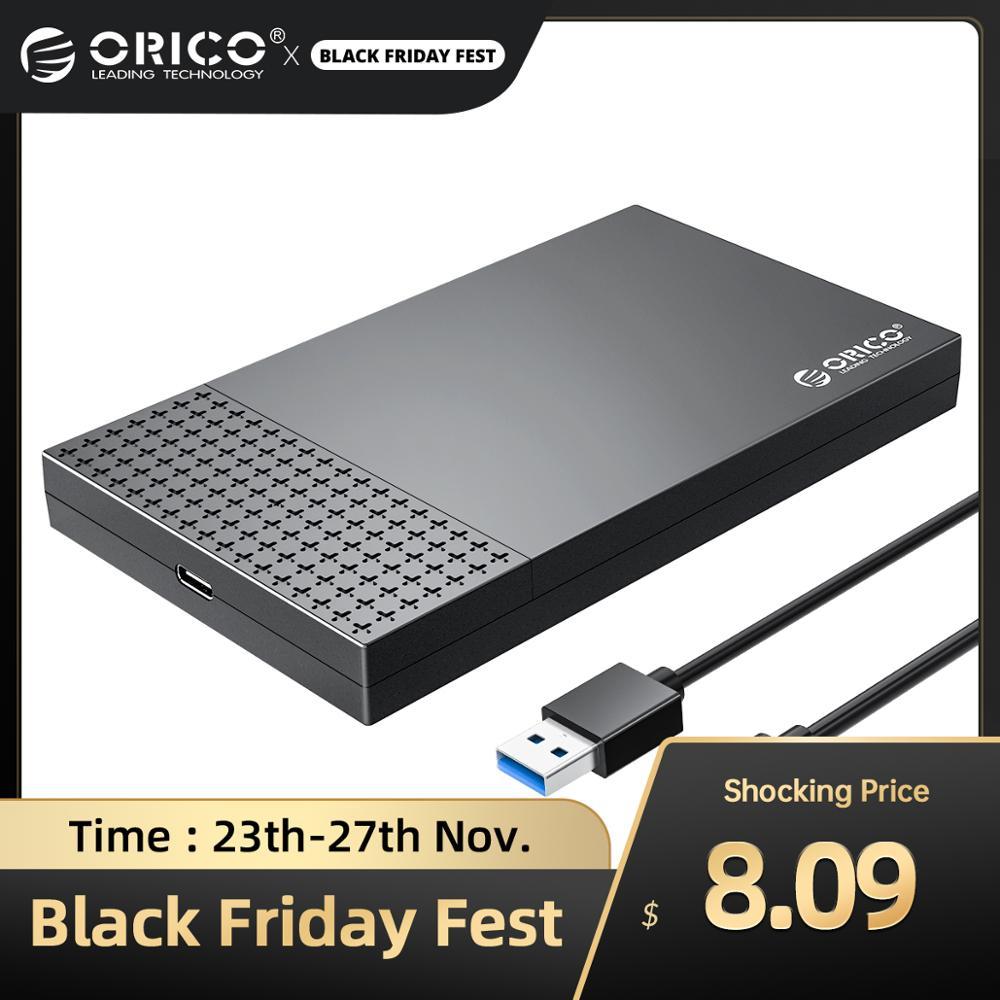 "Orico 2,5"" SATA zu USB-C 3.1 Festplattengehäuse, UASP [ Aliexpress ]"