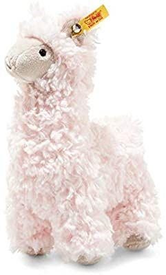 Steiff 69437 Original Plüschtier Lama Soft Cuddly Friends Luciana, Kuscheltier ca. 19 cm, Amazon Prime