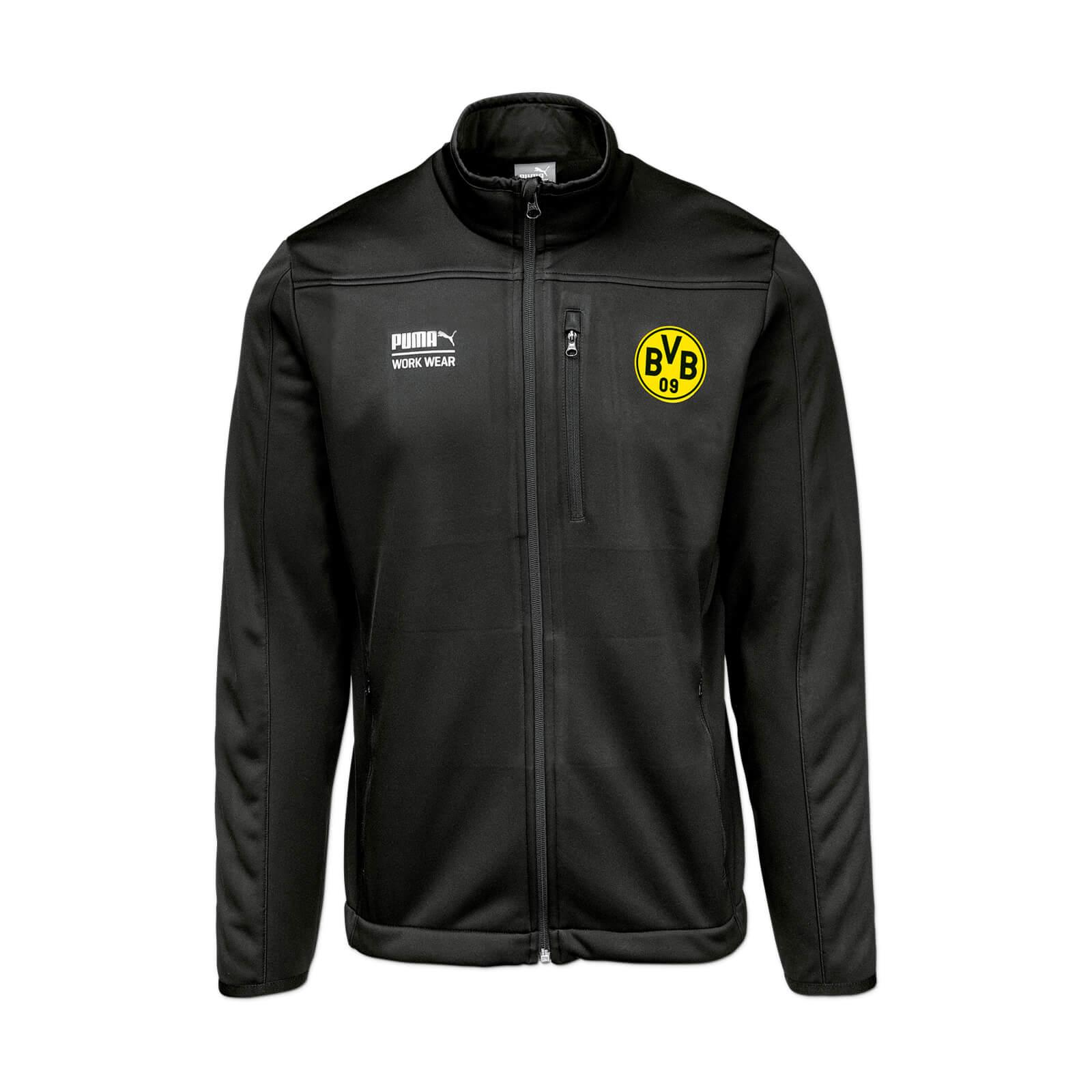 BVB Borussia Dortmund PUMA Arbeitssoftshelljacke 59,97€ @ BVB Shop