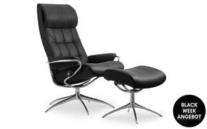 Stressless Relaxsessel London High Back mit Hocker
