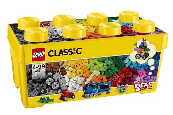 LEGO Classic 10696 - Mittelgroße Bausteine-Box (484 Teile) für 18,85 Euro [Thalia Klub-Mitgliedschaft]