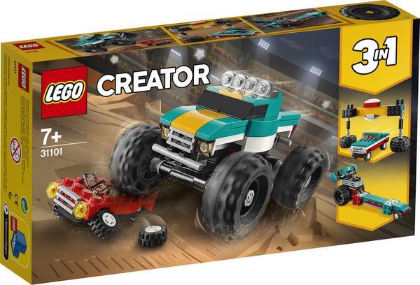 LEGO Creator 31101 Monster-Truck für 9,42 Euro [Thalia Klub-Mitgliedschaft]