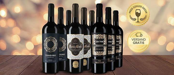 9x prämierter Primitivo-Wein - Vicampo + Focus