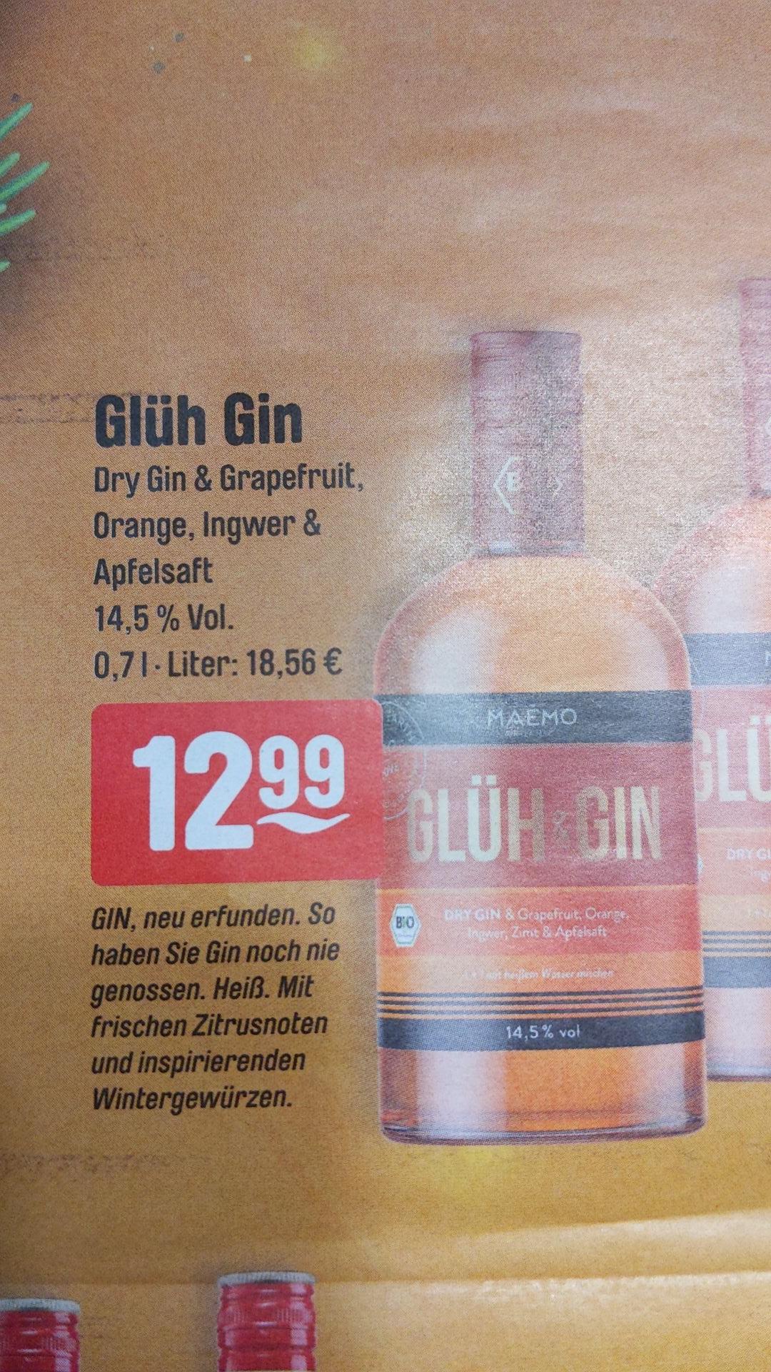 Maemo Organics Glüh & Gin 14,5% Vol., 0,7 Liter (Bio) [Getränke Hoffmann]