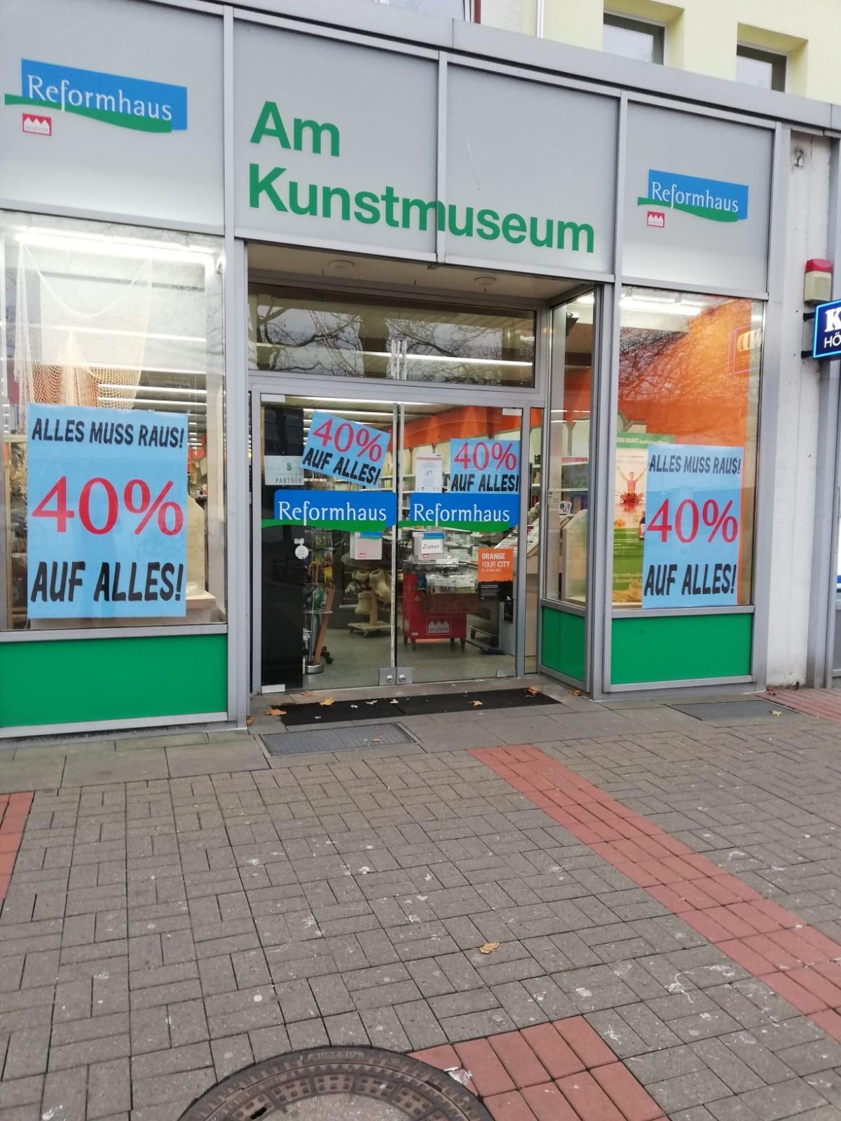Wolfsburg Reformhaus am Kunstmuseum 40% auf alles!