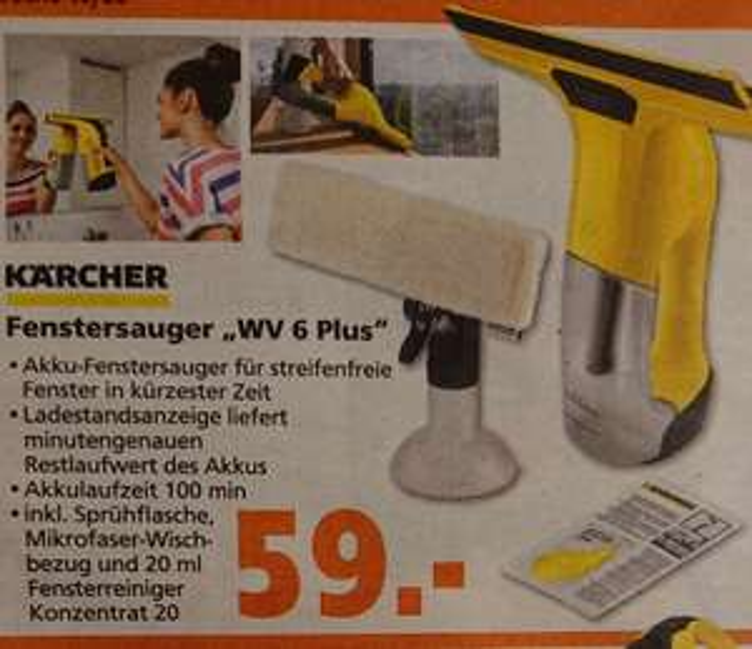 Kärcher WV 6 Plus TPG Hornbach Bestpreis