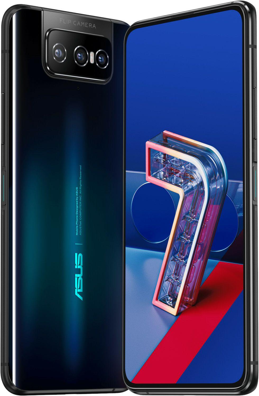 "Asus Zenfone 7 Pro 5G (6,67"" FHD+ AMOLED 90Hz, 230g, 8/256GB, SD865+, NFC, Dual-SIM+SD, Stereo, 5000mAh, 30W)"