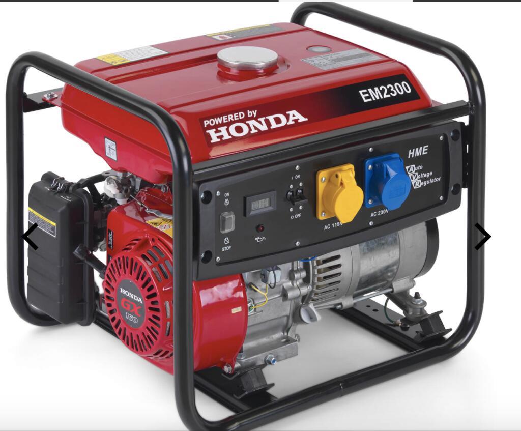 HONDA Stromerzeuger EM2300 AVR mit 5 Jahren Garantie