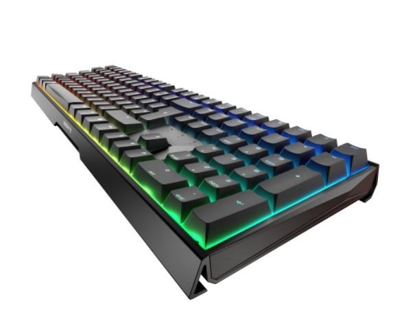 Gaming-Tastatur Cherry MX Board 3.0 S schwarz, MX RGB BROWN, USB