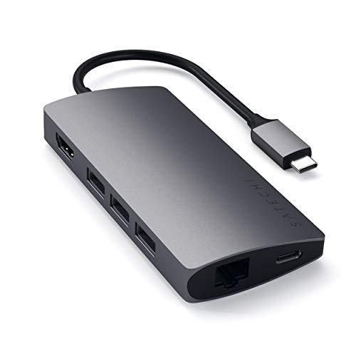 SATECHI Multiport Adapter V2 mit 4K HDMI (30Hz)