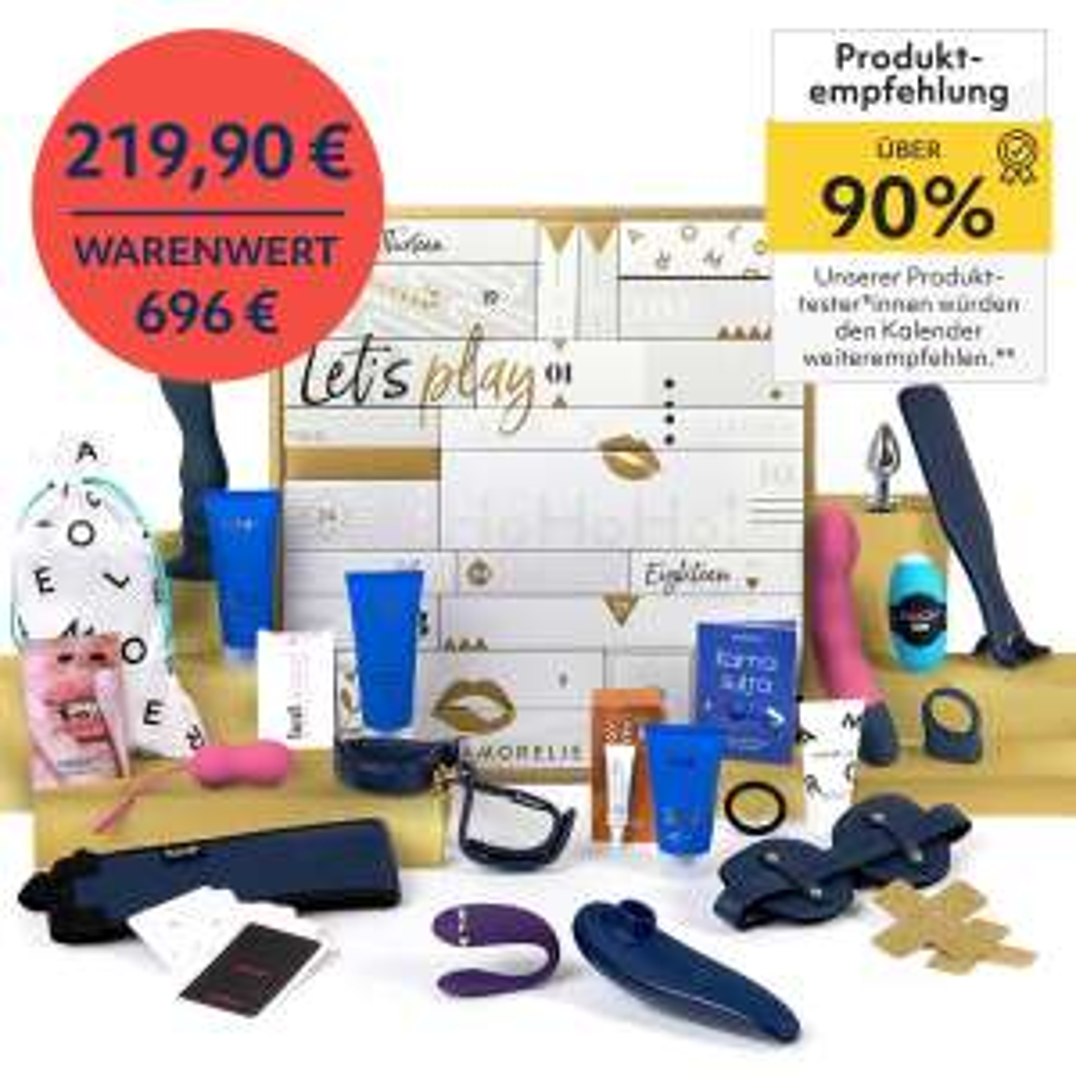 Amorelie Adventskalender 2020 - Luxury (wenige verfügbar)