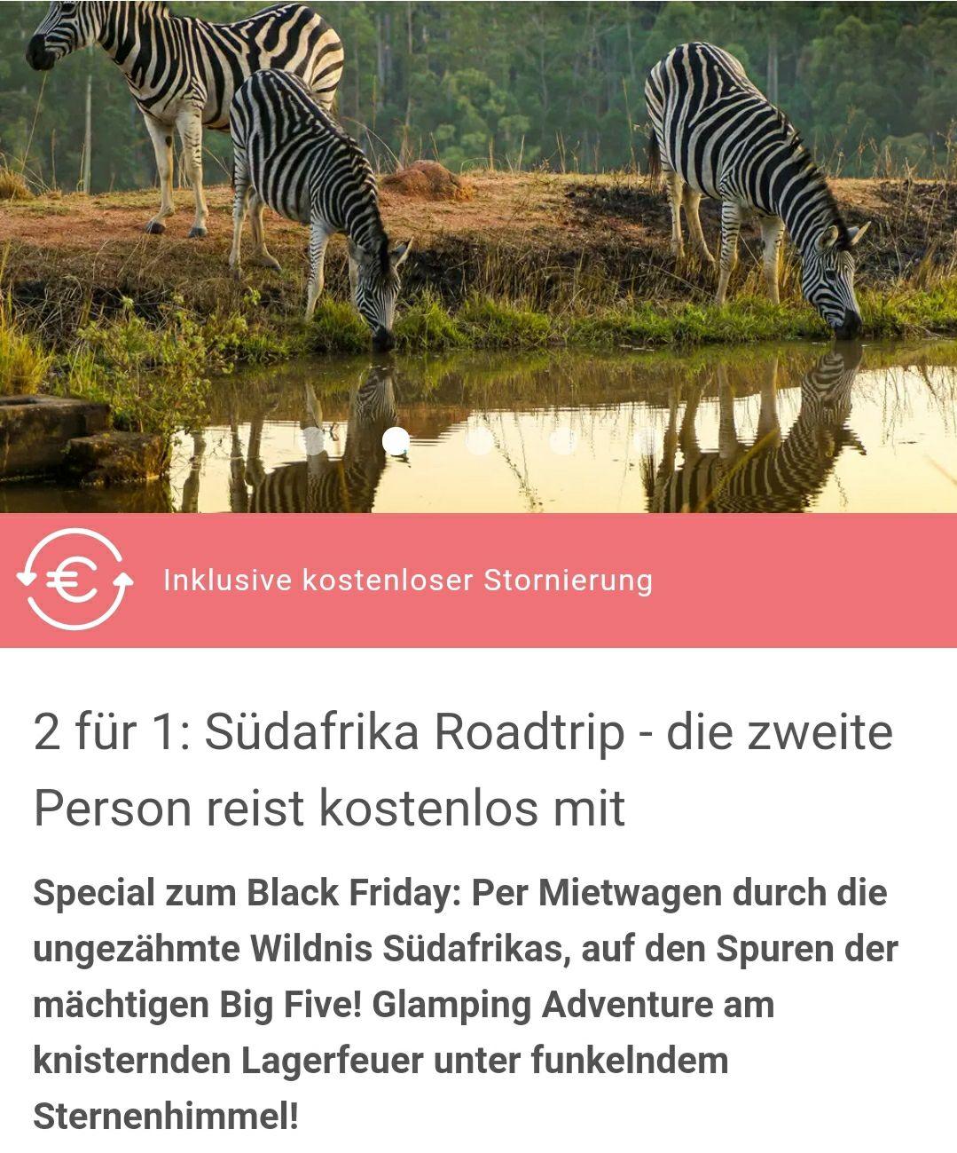 2 für 1: Südafrika Roadtrip