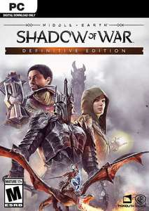 Middle-Earth Shadow of War - Definitive Edition (Steam PC) €4.49 @ CDKeys