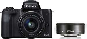 Canon M50 + 15-45mm + 22mm Is STM Kit