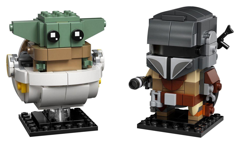 Lego Brick Heads Mandalorian 75317 + andere Lego Angebote u.a. 75270 75280 [Müller]