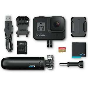 GoPro HERO8 Black Bundle 4K + Shorty, SD-Karte & Zubehörpaket