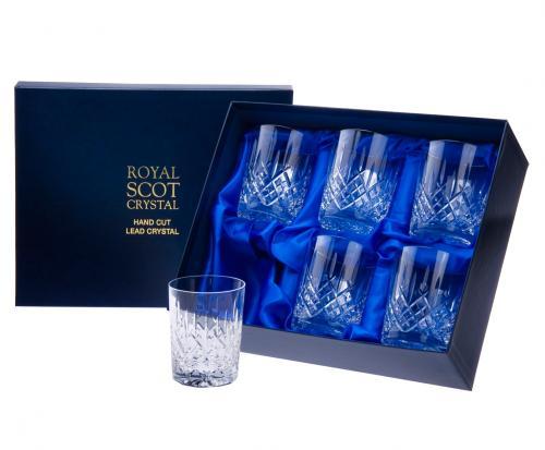 Whisky trinken mit Stil! 6x Old Fashioned Tumbler Kristallgläser für 69Euro+VSK