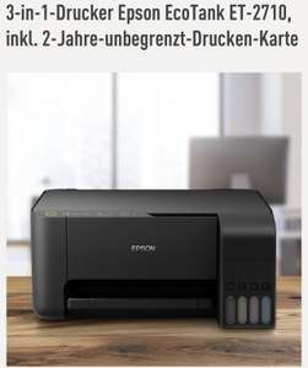 3-in-1-Drucker epson-ecotank et-2710 -inkl-2-Jahre Farbe