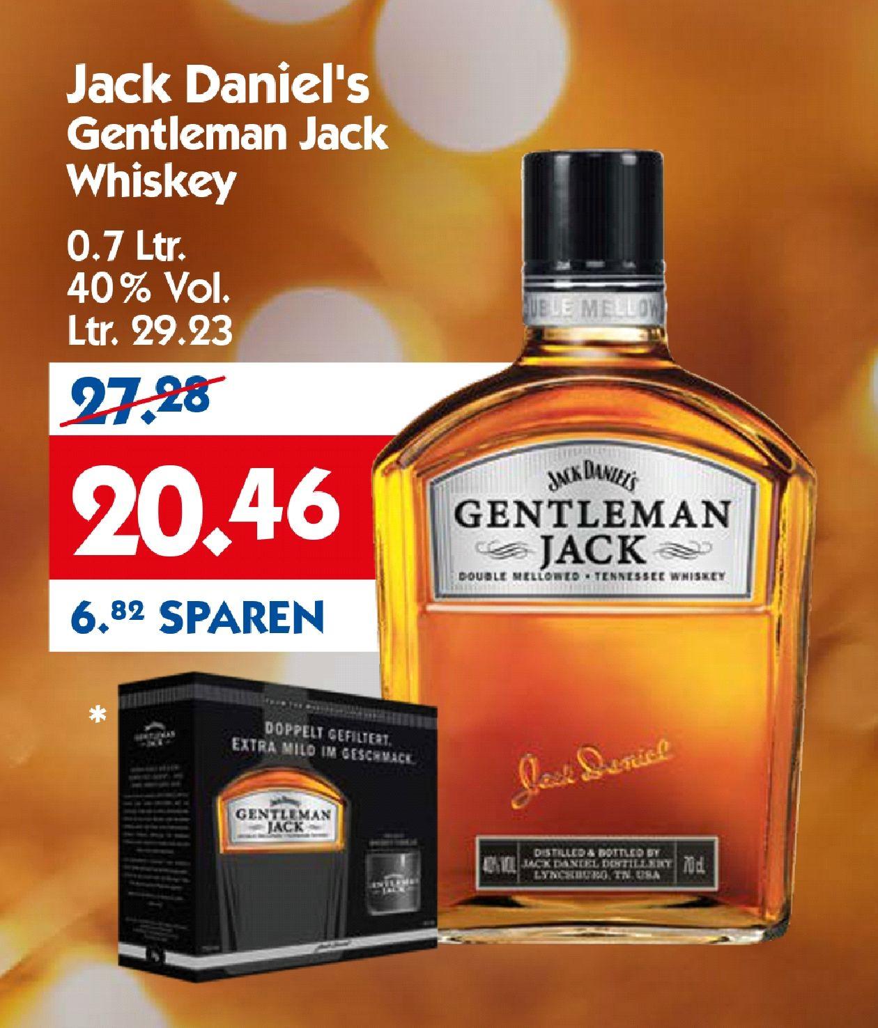 [lokal] Jack Daniel's GENTLEMAN JACK