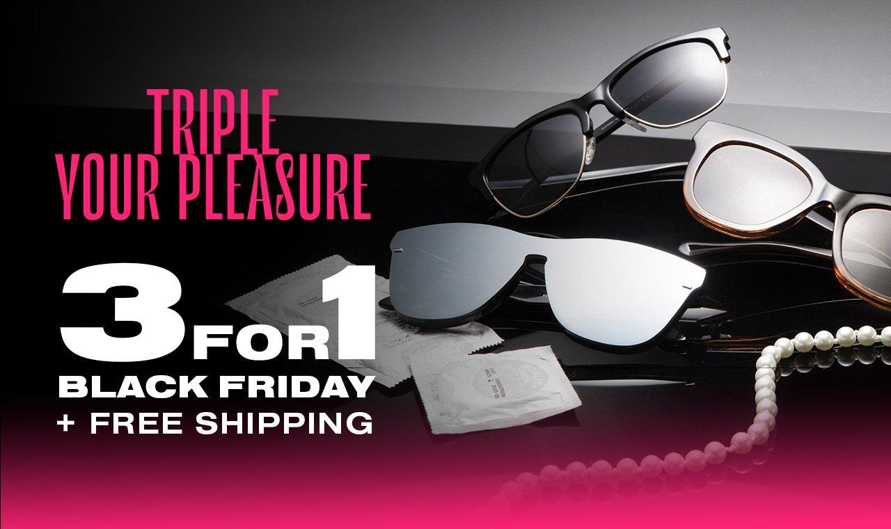 Hawkers Sonnenbrillen 3 für 1 & kostenloser Versand