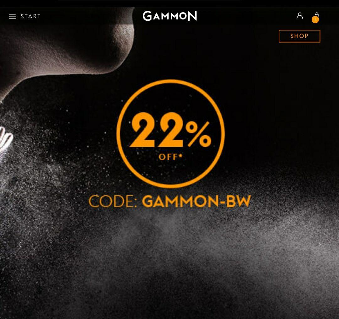 22% auf GAMMON-Düfte