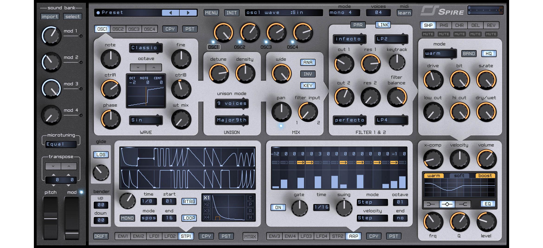 VST Synthesizer: Reveal Sound Spire für 129$ statt 189$ + Reveal Sound Soundpacks reduziert