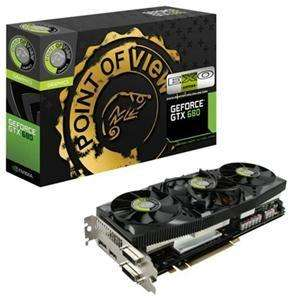 Point of View GeForce GTX680 2GBD5 Exo-Edition - 370 € - B Ware