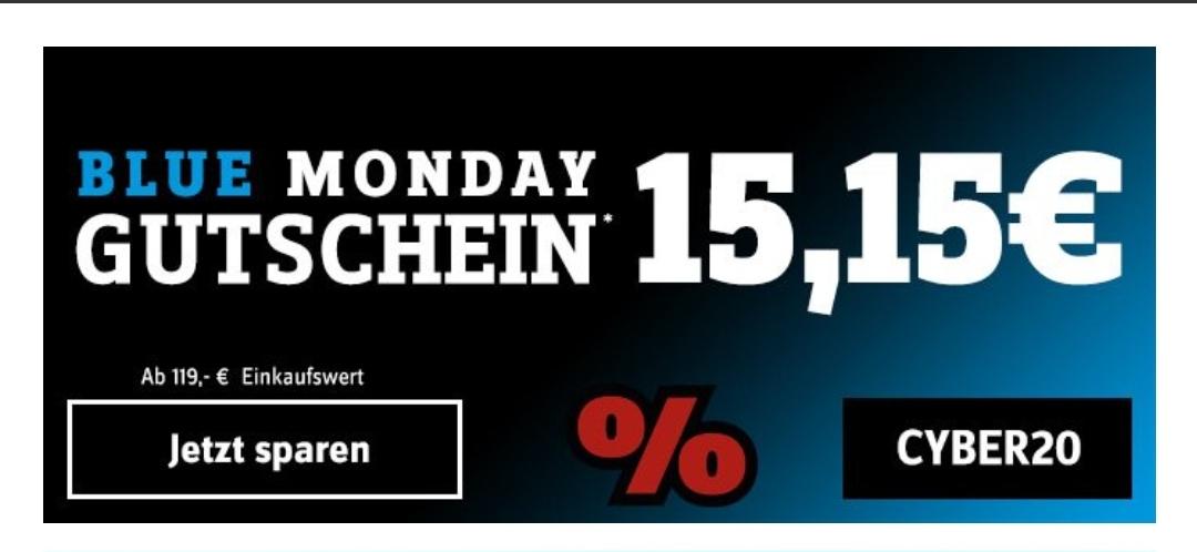 CONRAD: 15,15 Euro Gutschein ab 119 Euro MBW