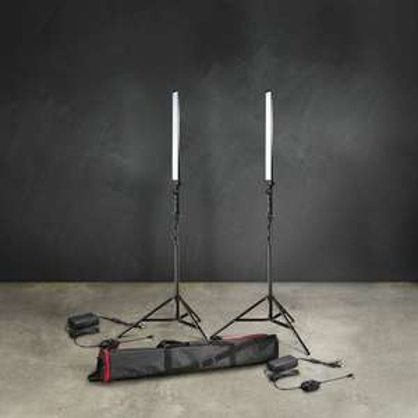 LED Striplight Tageslicht-Set Bresser BR-2250