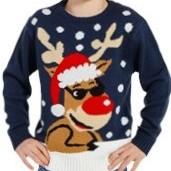 Weihnachtspullover S-XXL (6,95€) und 98-140 (5,95€)