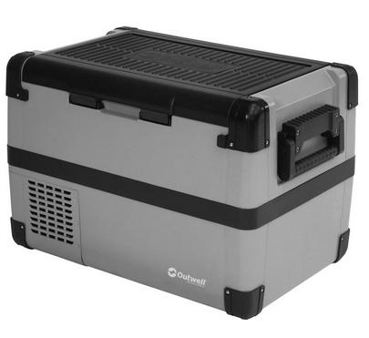 Outwell Deep Cool 50L Kühlbox - 12/24/230V, A++, max. Stehhöhe 2L PET, +10° bis -18° einstellbar
