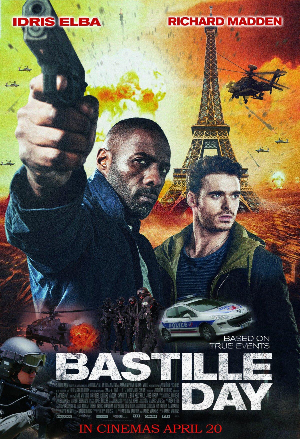«Bastille Day» – Packender Thriller mit Idris Elba kostenlos im Stream (SRF)