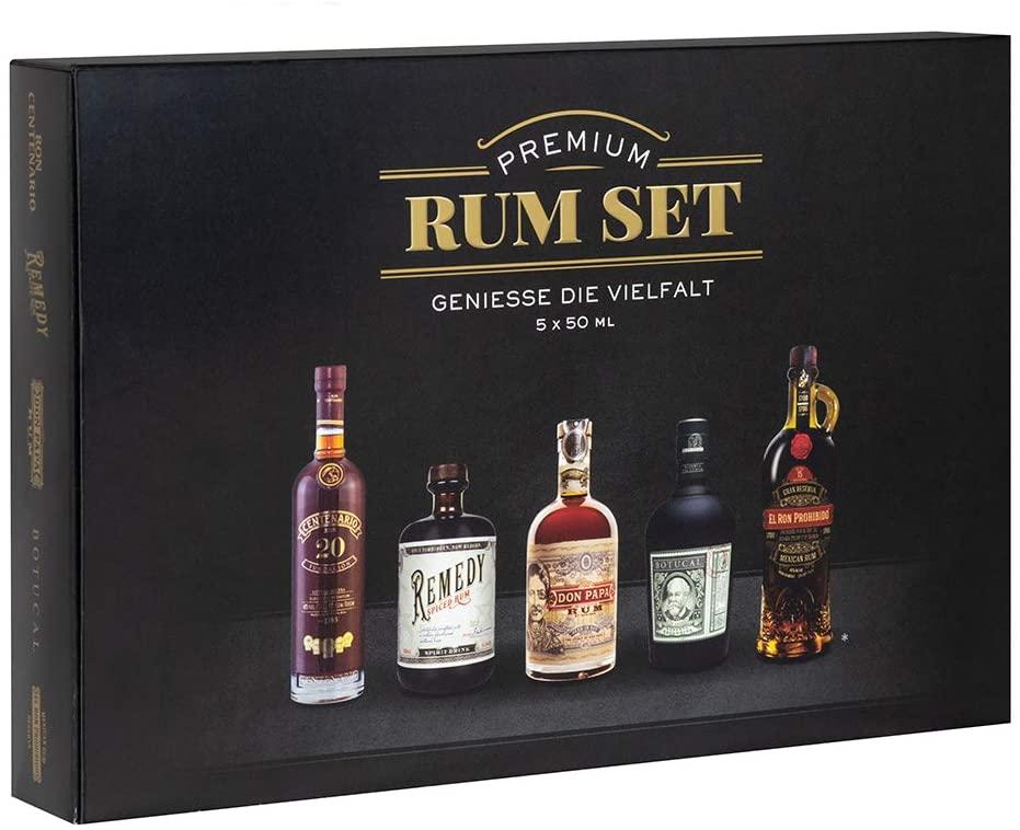 [Lokal Globus Dutenhofen] Premium Rum Tasting Set 5 x 50 ml