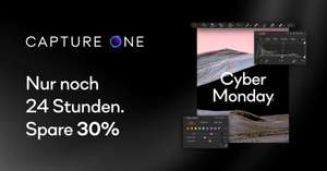 Capture One Pro 20+21 CYBERMONDAY DEAL - 30%