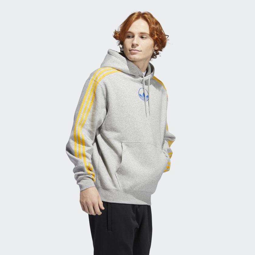 adidas Hoodie mit 3 Streifen - nur noch heute mit 20% extra Rabatt
