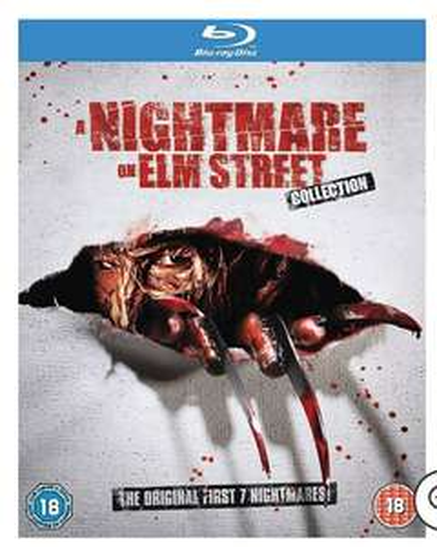 A Nightmare On Elm Street Collection - Blu-Ray - UK Import mit deutscher Tonspur