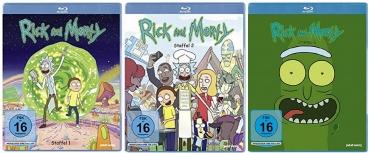 Time to get Schwifty! Rick & Morty Staffel 1-3 Blu-ray zusammen für nur 21,99 Schmeckles inkl. Versand