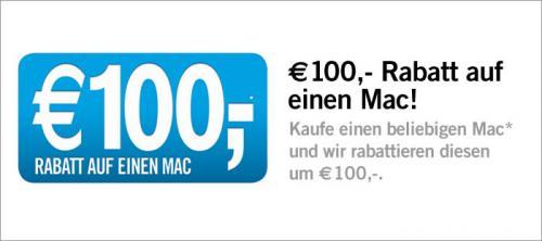 Compustore - 100 € Rabatt auf einen Mac deiner Wahl.