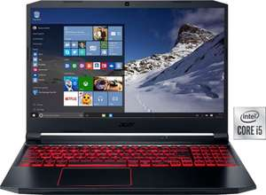 Acer Nitro 5 Gaming-Notebook (43,94 cm/17,3 Zoll, Intel Core i5, GeForce GTX 1650 Ti, - GB HDD, 512 GB SSD, Gaming Laptop