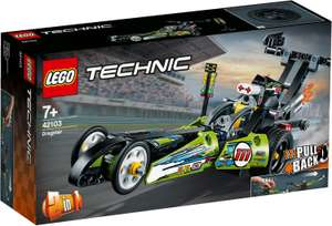 LEGO Technic - 2 in 1 Dragster Rennauto (42103) [Prime]